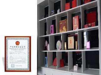 圣飞荣誉证书
