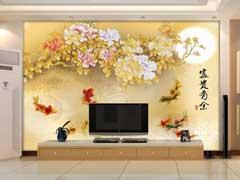 电视背景墙墙纸