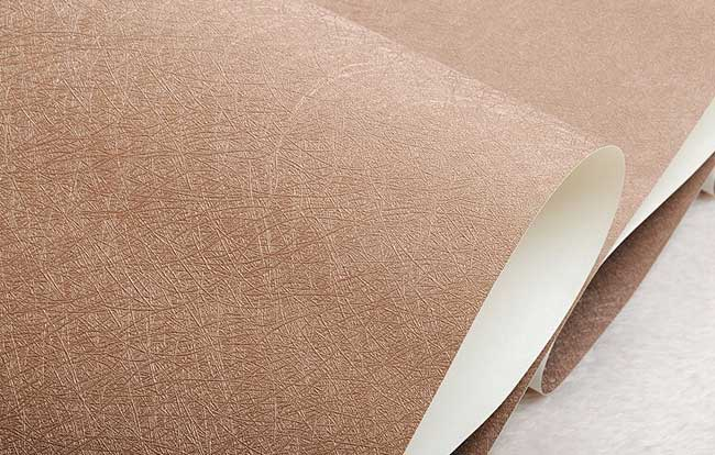 现代简约咖啡色工程墙纸